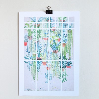 cacti, hanging planter, david fleck, macrame, succulents