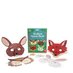 Woodland Animal Masks 1