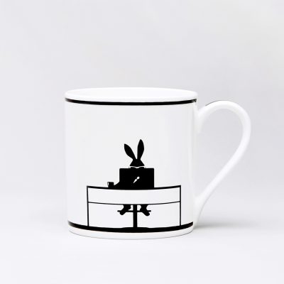 Working Rabbit Mug by Ham