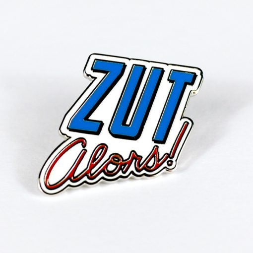 Zut Alors! with no direct translation, this fun words closest translation is Holy Smokes, Darn, Dammit.