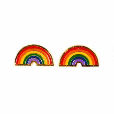 anna rainbow earrings
