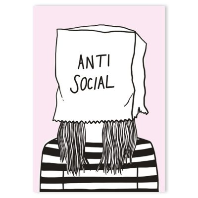 anti social notebook