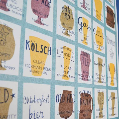 World Beers Risograph