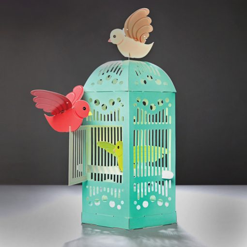 build a beautiful bird cage, bird cage, birds, diy, clockwork soldier, kids