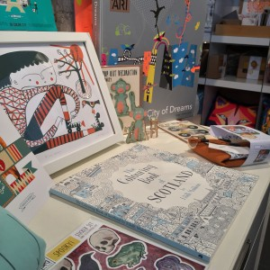 mina braun, holiday DIY fun, Colouring Books, Sewing, Pop out cards
