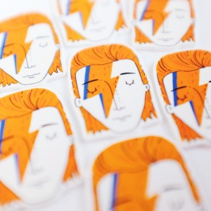 David Bowie Brooches - Multiple 2