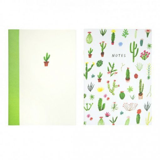 cacti icons notebooks by Nina Cosford for Ohh Deer