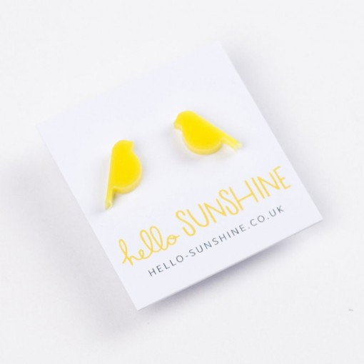 canary aviary, yellow canary, canaries, birds, bird jewellery, hello sunshine,