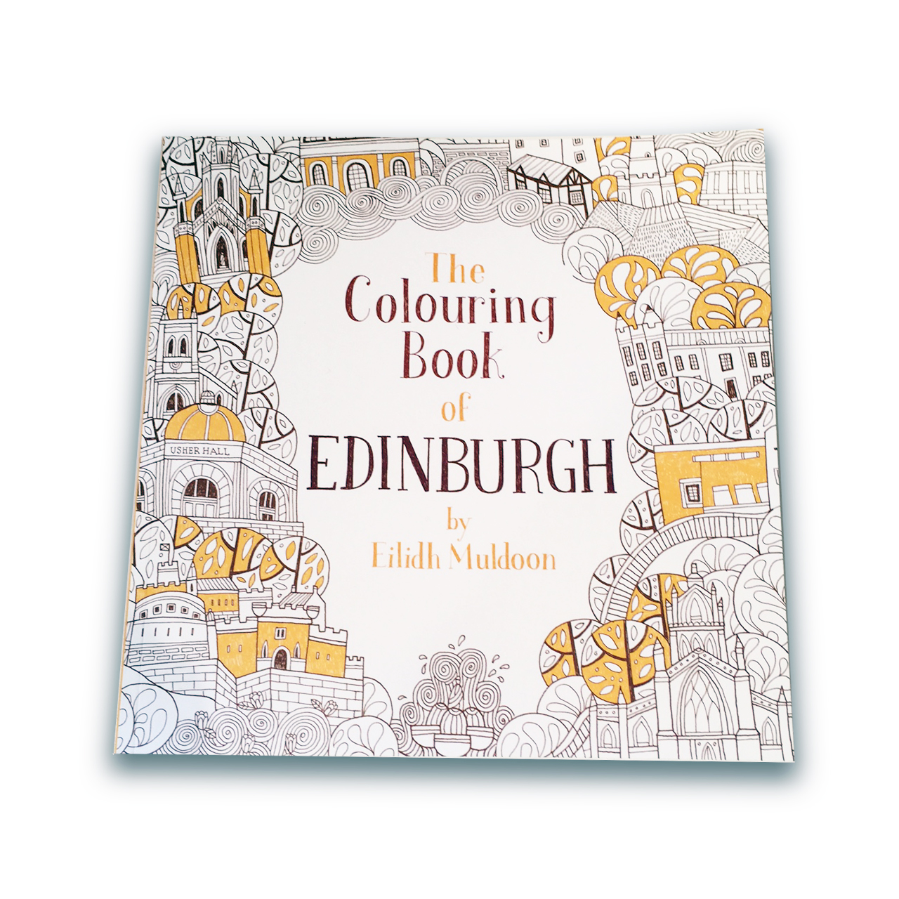 The Colouring Book Of Edinburgh Gifts Under 10 Top Sellers