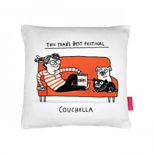 Couchella Cushion by Gemma Correll