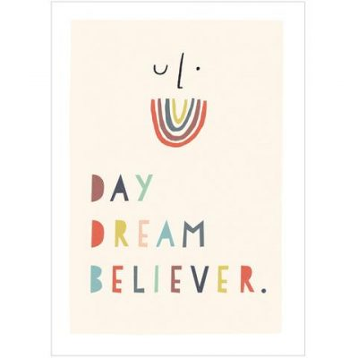 Day Dream Believer, beautiful print by Freya Illustration