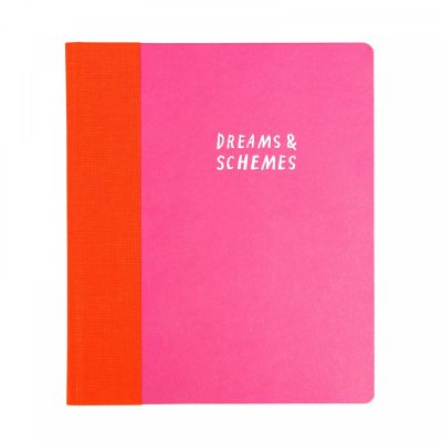 Dreams and Schemes A5ish notebook by Nina Cosford for Ohh Deer