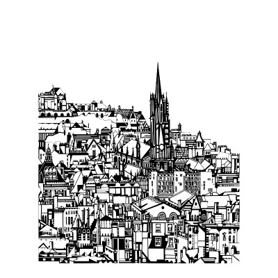 edinburgh city by susie wright