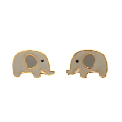 ernest elephant earrings