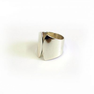 fan cuff ring is a beautiful statement piece by Pistol and Peach based in Sheffield and available at The Red Door Gallery