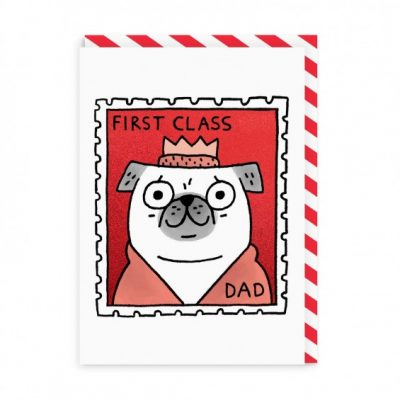 first class dad card by gemma correll