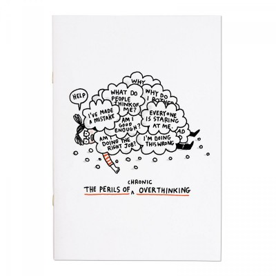 perils of overthinking, notebook, gemma correll, ohh deer