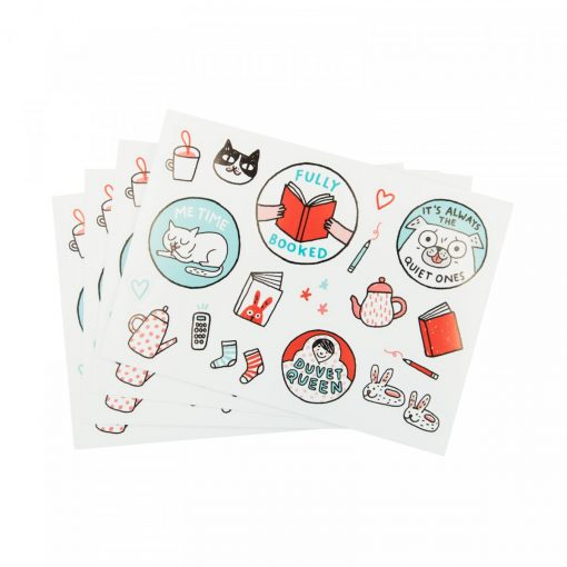 The Great Indoors Sticker Set by Gemma Correll