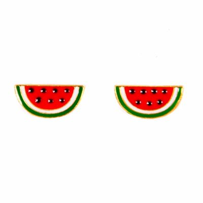 georgina watermelon earrings