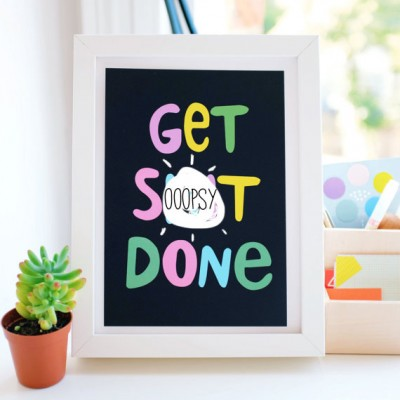 get+shit+done+print+by+andsmile