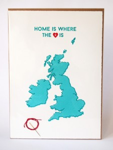 home is where the heart is by kate and the ink