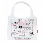 Kitten Diagram Shopping Bag