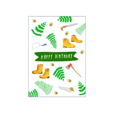 leafy birthday by heather more