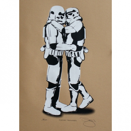 Kissing Stormtroopers