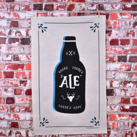 Where There's Ale Teatowel