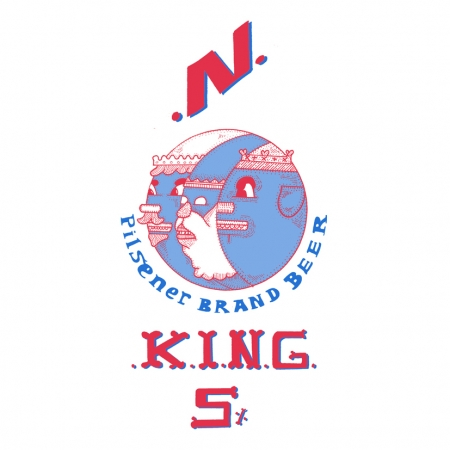 3 Kings Beer - A5 Print