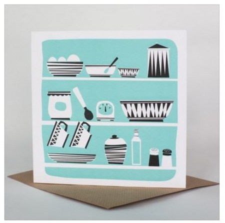 Kitchen Cupboard Card