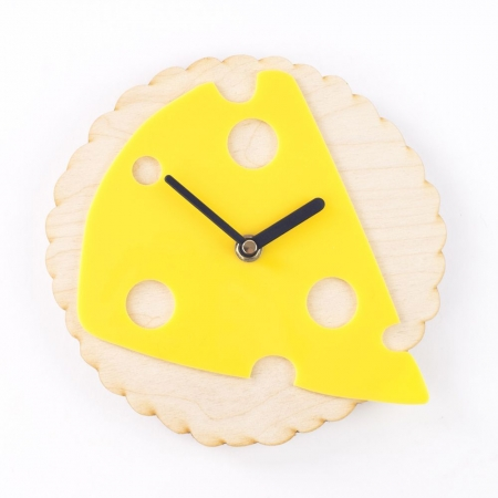 Time For Cheese Clock