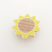 Sunflower Pin-3- by Hello Sunshine at The Red Door Gallery