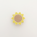 Sunflower Pin-2- by Hello Sunshine at The Red Door Gallery