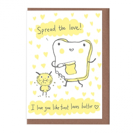 Toast Loves Butter Card
