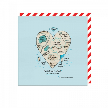 Introverts Heart Card