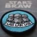 lads embroidered iron on patch sew on stormtrooper stars are braw star wars the grey earl 6