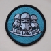 lads embroidered iron on patch sew on stormtrooper stars are braw star wars the grey earl 2
