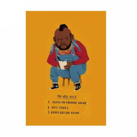 Mr T's Mothers Day Card