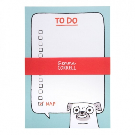 Pug To Do Notepad