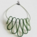 Olivy Green Choker Necklace2 by and lolita at the red door gallery