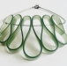 Olivy Green Choker Necklace 3 by and lolita at the red door gallery