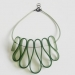 Olivy Green Choker Necklace by and lolita at the red door gallery