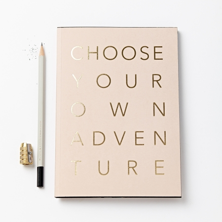 Choose Your Own Adventure Notebook