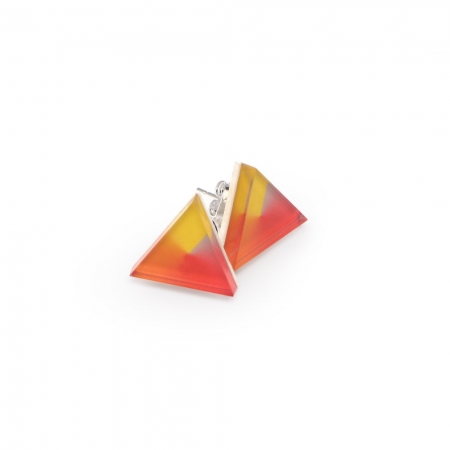 Triangle Spin Earrings - Various