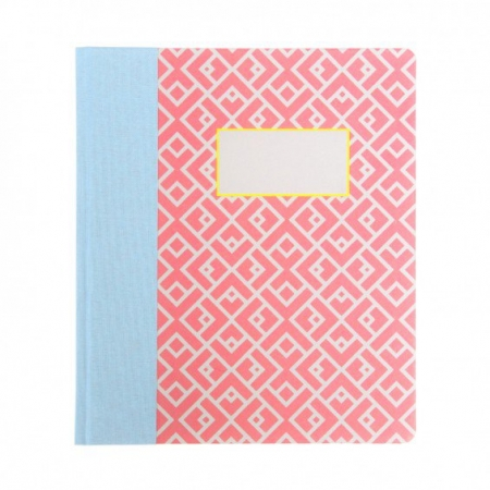 Moroccan Tile A5ish Quarterbound Notebook