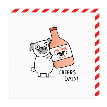 Cheers Dad! Card