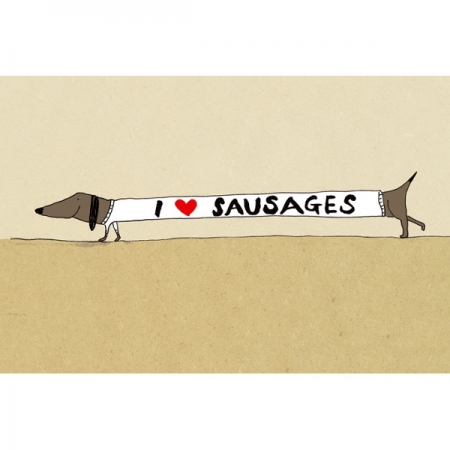I Heart Sausages