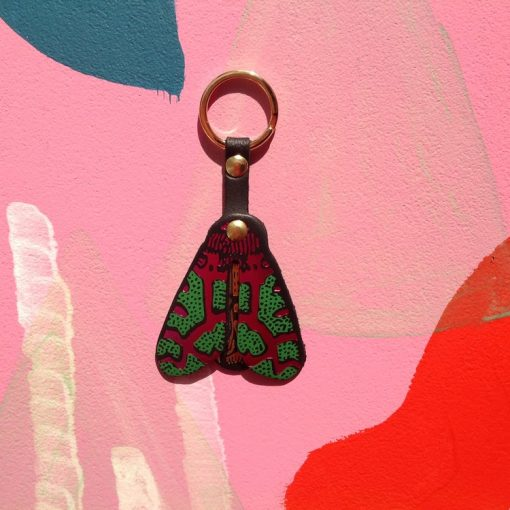 Moth Keyring by Ark Design