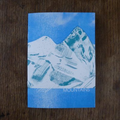 mountains zine by louise smurthwaite